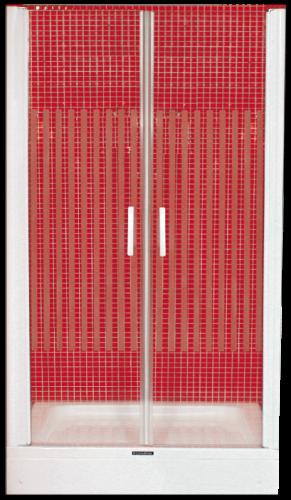 duschtr nischentr dusche schwingtr pendeltr 95cm breit kreatrio - Dusche Pendeltur Schwingtur