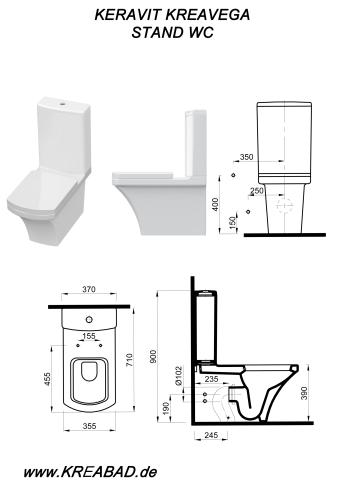 stand wc aqua dusch wasch cleaning taharet stand wc mit keramik sp lkasten dr ckergarnitur. Black Bedroom Furniture Sets. Home Design Ideas