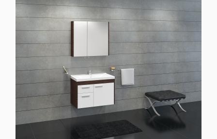 badm bel set unterschrank aufsatzwaschtisch spiegelschrank. Black Bedroom Furniture Sets. Home Design Ideas
