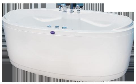 Freistehende Badewanne Idila 175x90 Höhenverstellbare Füsse