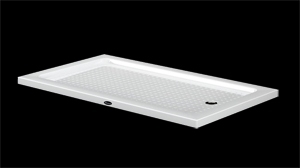 duschwanne extra flach duschtasse 110x90 x 6cm duschwanne. Black Bedroom Furniture Sets. Home Design Ideas