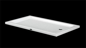 duschwannen duschtassen extra flach rechteck 70cm breit 4 5cm oder 6cm hoch badshop baushop. Black Bedroom Furniture Sets. Home Design Ideas