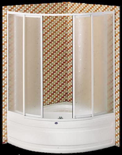 badewannenaufsatz eckbadewannenaufsatz duschaufsatz polar badshop baushop bauhaus sanit r. Black Bedroom Furniture Sets. Home Design Ideas