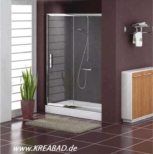 duschkabine schiebet r duscht r kreatec badshop baushop bauhaus sanit r fliesen badshop. Black Bedroom Furniture Sets. Home Design Ideas