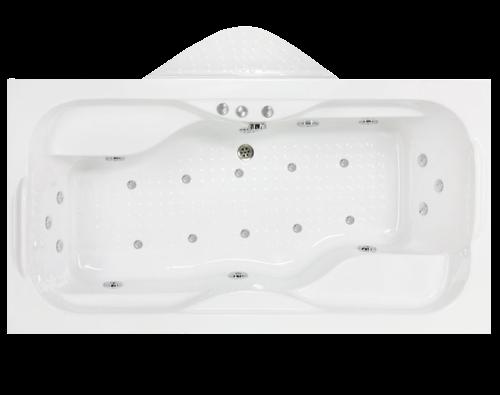 whirlpool 2 personen badewanne whirlpool massagebad. Black Bedroom Furniture Sets. Home Design Ideas