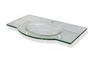 glaswaschbecken glas aufsatzwaschtische badshop. Black Bedroom Furniture Sets. Home Design Ideas