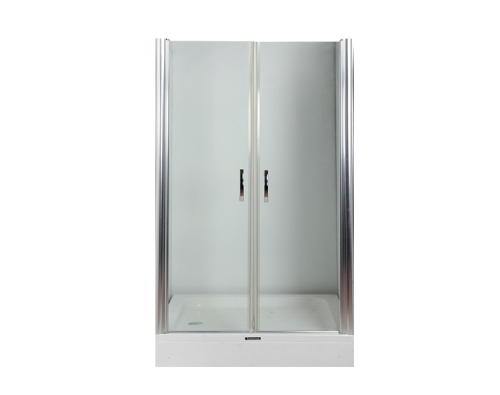 duschtr nischentr schwingtr 2 teilige pendeltr duschtren gr 75cm bis 775cm breit variabel - Dusche Pendeltur Schwingtur