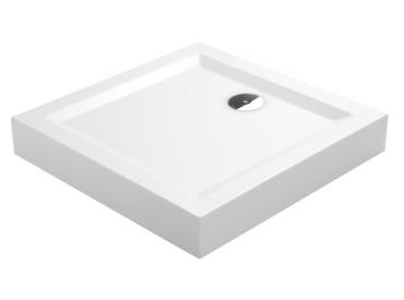 duschwannen duschtassen monoblock mit sch rze mit integrierter sch rze hoher rand badshop. Black Bedroom Furniture Sets. Home Design Ideas