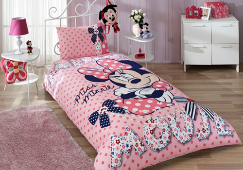 Disney Minnie Maus Dream 3 Tlg Set Bettwäsche Bettbezug Kopfkissen