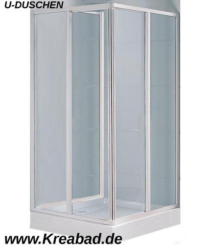 u form dusche duschkabinen klassik duschkabine in u form. Black Bedroom Furniture Sets. Home Design Ideas