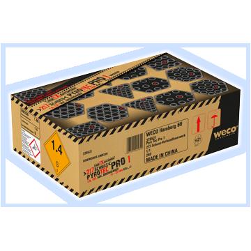 Weco Küchen pypyro tec pro 1 batterie weco 217 schuss feuerwerksbatterie badshop