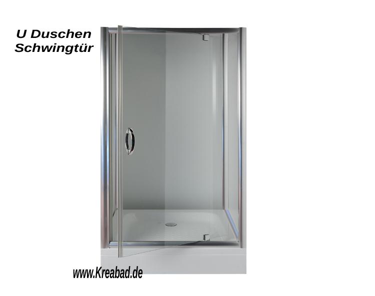 U Form 90x100x90cm Dusche Duschkabinen Klassik - Duschkabine in U ...