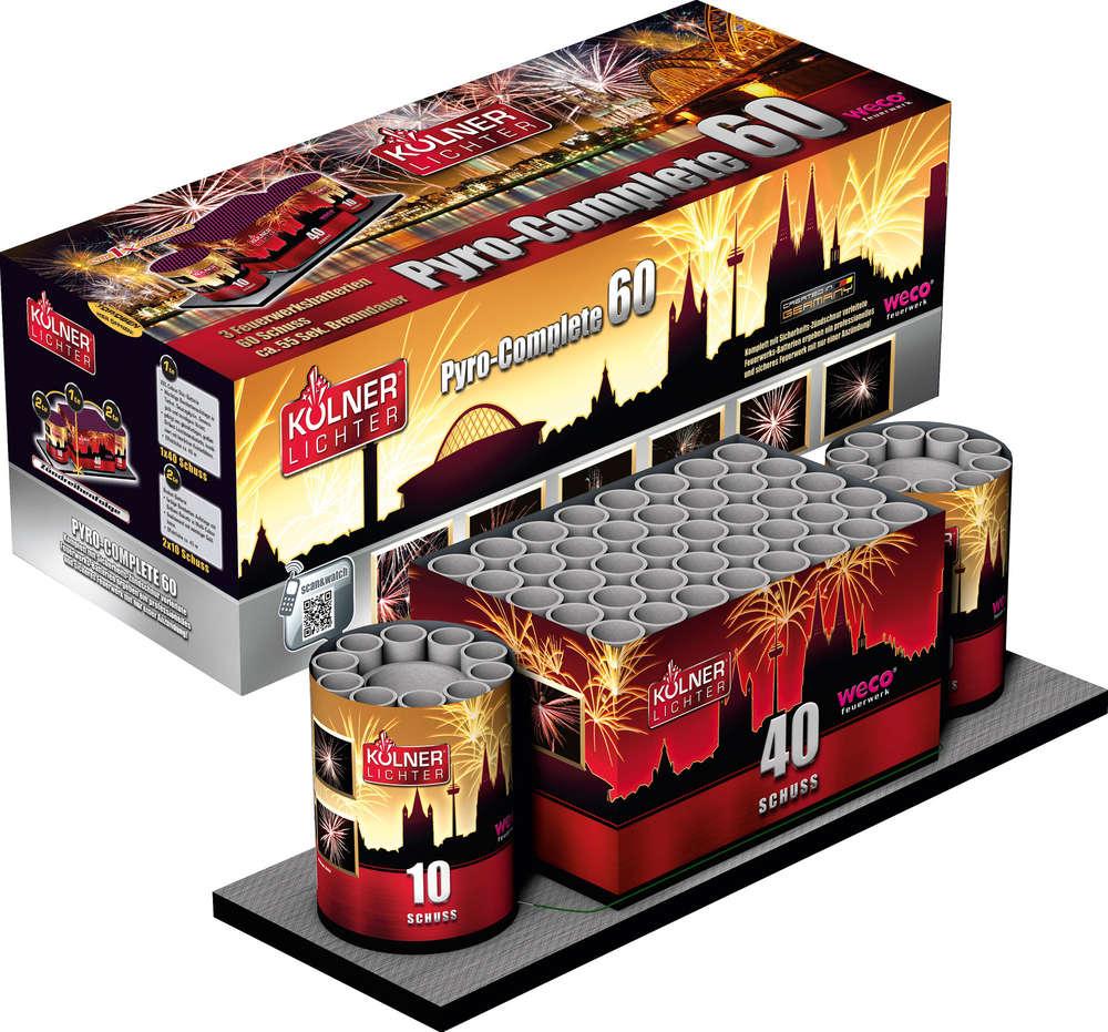 Weco Küchen weco pyro complete 60 schuss batterie kölner lichter badko feuerwerk