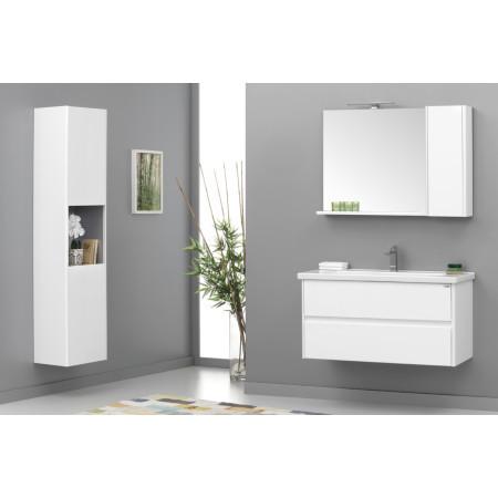Badmöbel 80cmx45 Duden Mit Spiegelschrank Weiß Badezimmer Möbel