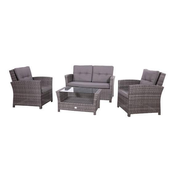 Gartenmöbel Set Lounge-Set \