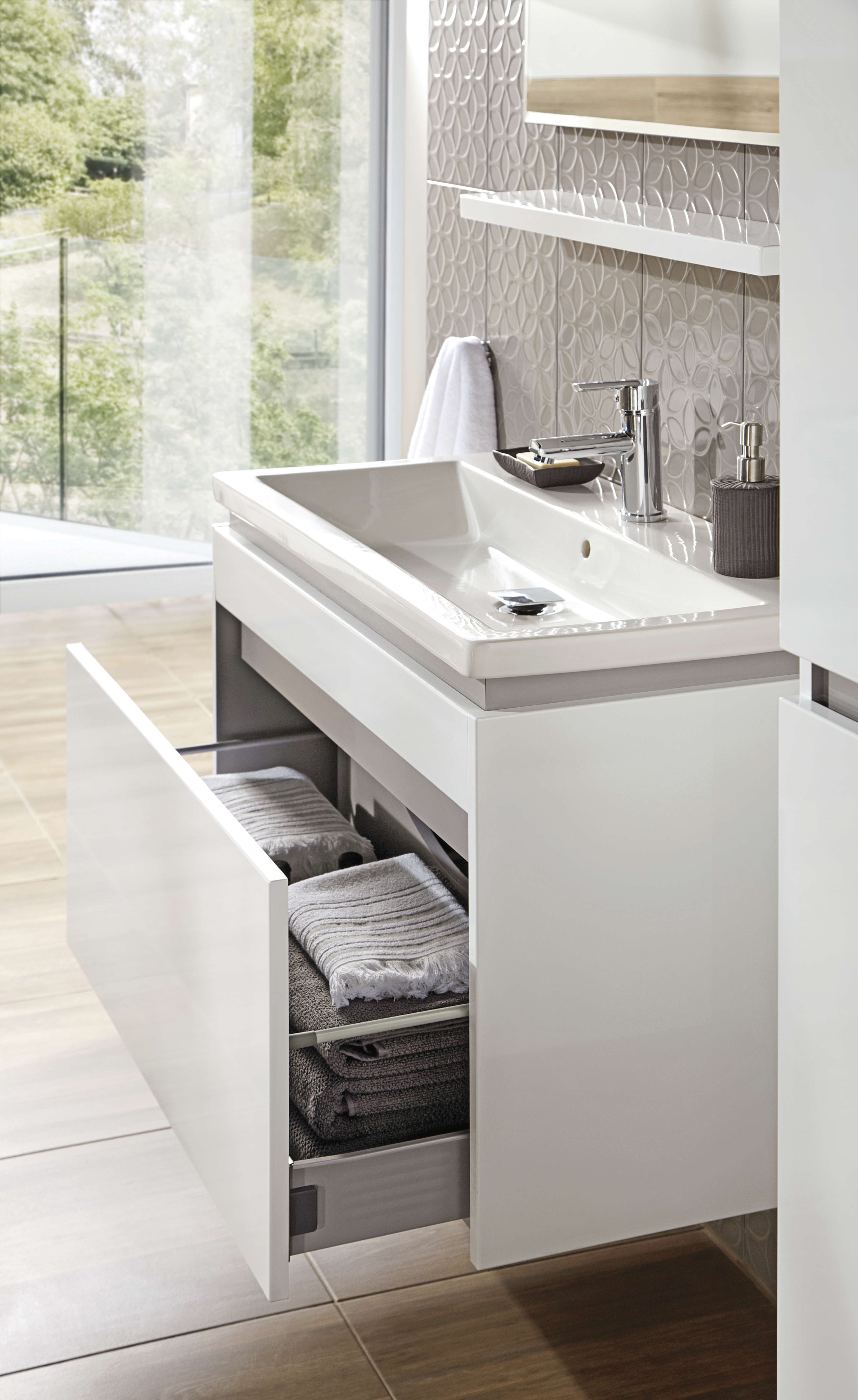 wunderbar waschbecken mit unterschrank bauhaus ehoussie. Black Bedroom Furniture Sets. Home Design Ideas