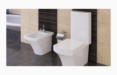 Super Aqua Cleaning Taharet Stand Wc + Keramik spülkasten Kreavega Stand UR57