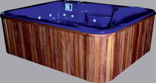 Spa Pool Titanic, Whirlpool, Jacuzzi Outdoorpool & Indoorpools 250x200cm 16 Super Jets