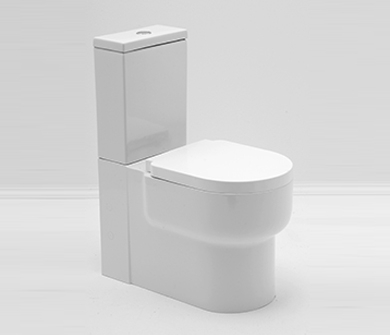 Beliebt Stand Wc mit Keramik Spülkasten + Soft Close Wc Sitz Zero BO91
