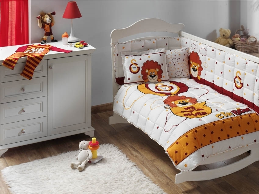 Galatasaray Baby Bettwäsche Set steppdecke Cimbom