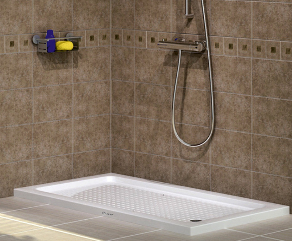 duschwanne extra flach 140x70 x 6cm h he duschtasse 70x140. Black Bedroom Furniture Sets. Home Design Ideas