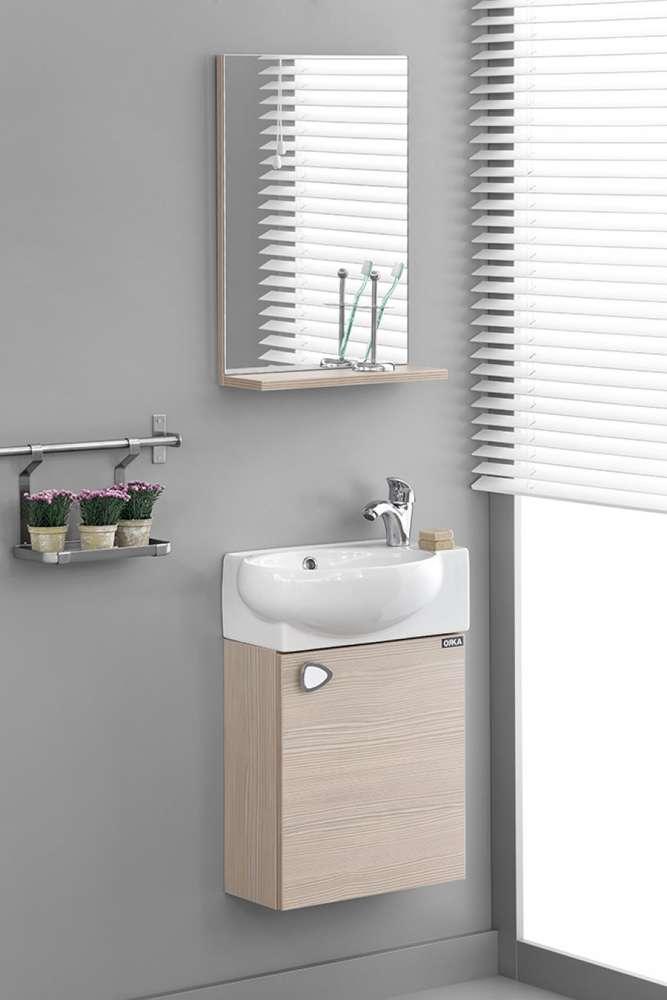 Badmobel Rivas Bergama 54x45x28 Unterschrank Waschbecken