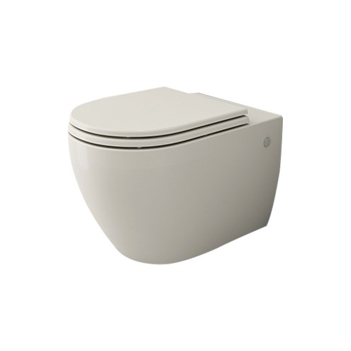 Wc sitz Soft Close Slim passend für Bocchi 1295 Venezia