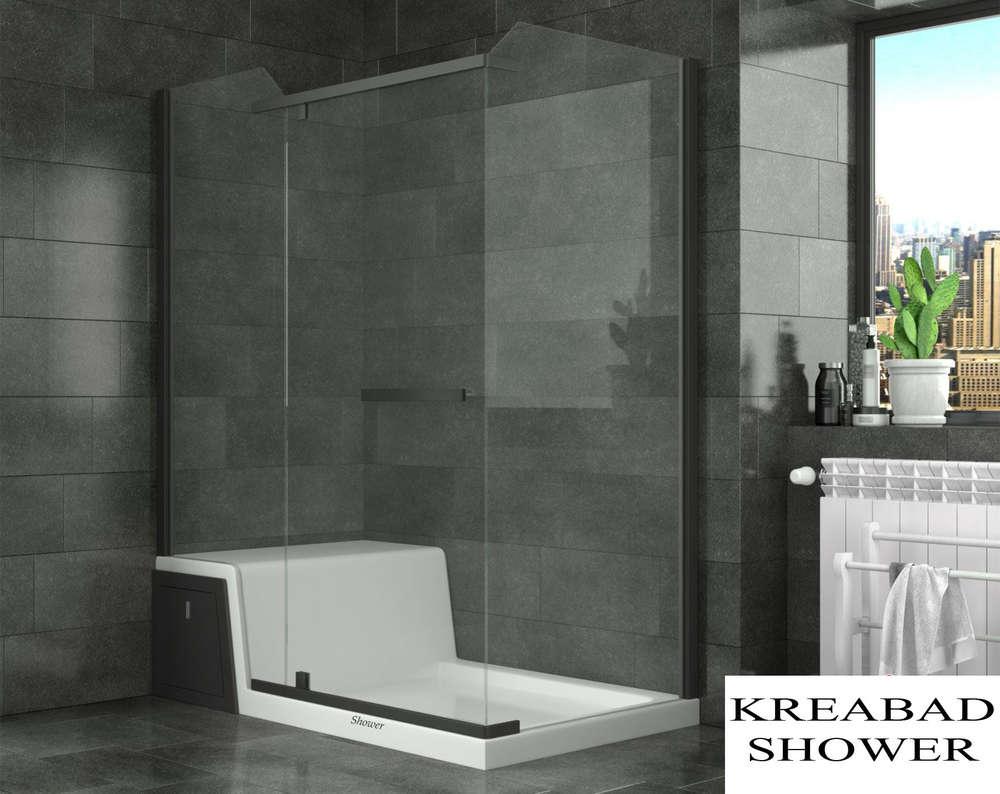 Duschkabine Sitzduschwanne Showerstar 150x80