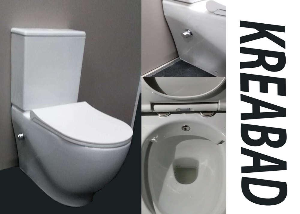 Hervorragend Spülrandlos Taharet Dusch Wc Stand Wc mit Keramik Spülkasten + NY93