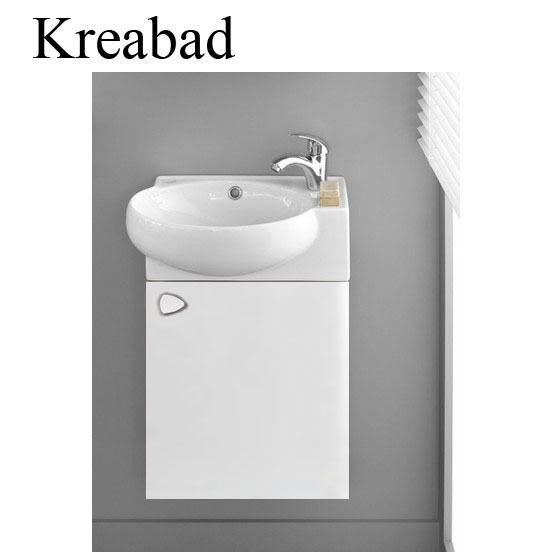 3045 – Gäste WC Waschtisch Keramik Waschbecken Eckig Handwaschbecken ...