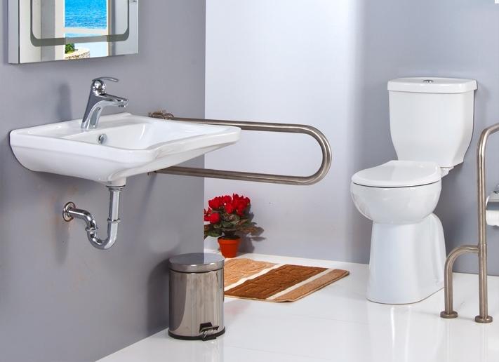 Behindertengerechtes Waschbecken.Behindertengerechte Waschbecken Behindertengerechte