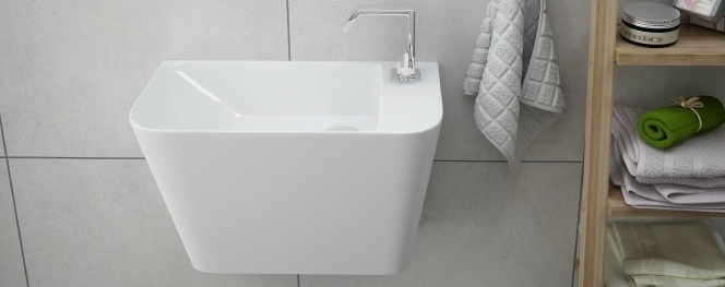 Kleine Waschbecken - Waschbecken für Kleine Bäder Badezimmer ...