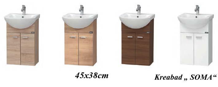 Soma - Badmöbel für Kleine Badezimmer Bäder